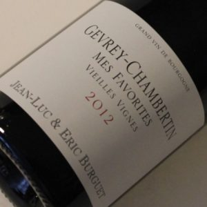 Alain Burguet-Gevrey Mes Favorites 2012