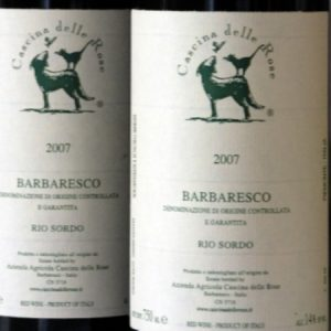 Cascina Rose-Barbaresco Rio Sordo 2007